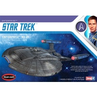 Polar Lights POL966M 1/1000 Star Trek NX-01 Enterprise (Snap) 2T Plastic Model Kit