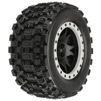 Proline Badlands MX43 Pro-Loc All Terrain X-Maxx Mounted Tyres