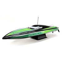 Pro Boat Sonicwake Deep-V Boat RTR Green/ Black