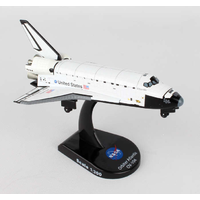 Postage Stamp 1/300 Space Shuttle Atlantis Diecast 58231