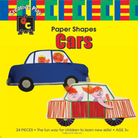 Educational Colours Paper Shapes Transport PSCARS