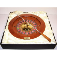 Dal Rossi Italy 16 Wooden Roulette Set Q1036DR