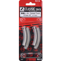 Rokuhan Z Track Curved 70mm R45 Degree (4) R018