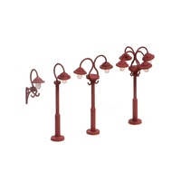 Ratio OO Swan Necked Lamps (9 Per Pack)