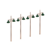 Ratio OO Concrete Lamps (4 Double Standard Per Pack)