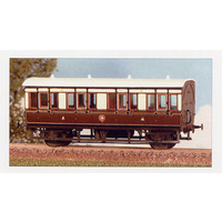 Ratio OO GWR 4-Wheeled Composite Coach Kit