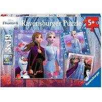 Ravensburger - 3x49pc Frozen 2 The Journey Starts Jigsaw Puzzle