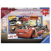 Ravensburger - 2x24pc Disney Two Cars Jigsaw Puzzle 07819-6