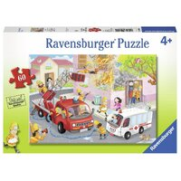 Ravensburger - 60pc Firefighter Rescue! Jigsaw Puzzle 09641-1