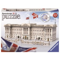 Ravensburger - 216pc Buckingham Palace 3D Jigsaw Puzzle 12524-1
