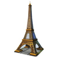 Ravensburger - 216pc Eiffel Tower 3D Jigsaw Puzzle 12556-2