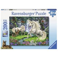Ravensburger - 200pc Mystical Unicorns Jigsaw Puzzle 12838-9