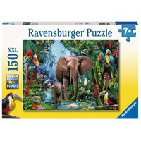 Ravensburger - 150pc Elephants at the Oasis Jigsaw Puzzle