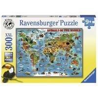 Ravensburger - 300pc Animals of the World Jigsaw Puzzle 13257-7