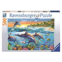 Ravensburger - 500pc Dolphin Cove Jigsaw Puzzle 14210-1