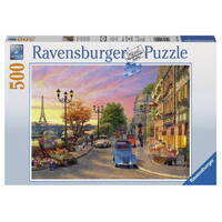 Ravensburger - 500pc A Paris Evening Jigsaw Puzzle 14505-8