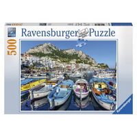 Ravensburger - 500pc Colourful Marina Jigsaw Puzzle 14660-4