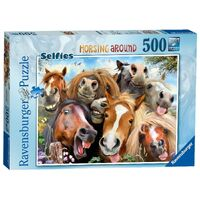 Ravensburger - 500pc Horsing Around Jigsaw Puzzle 14695-6