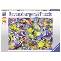 Ravensburger - 500pc Tropical Traffic Jigsaw Puzzle 14796-0