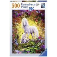 Ravensburger - 500pc Unicorn and Foal Jigsaw Puzzle 14825-7