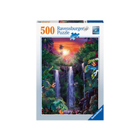 Ravensburger - 500pc Magical waterfall Jigsaw Puzzle 14840-0