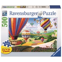 Ravensburger - 500pc Brilliant Balloons Lrg Format Jigsaw Puzzle 14871-4