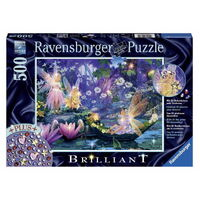 Ravensburger - 500pc Fairy with Butterflies Jigsaw Puzzle 14882-0