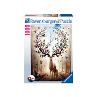 Ravensburger - 1000pc Magical Deer Jigsaw Puzzle
