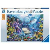 Ravensburger - 500pc King of the Sea Jigsaw Puzzle