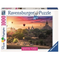Ravensburger - 1000pc Hot Air Balloons over Myanmar Jigsaw Puzzle 15153-0