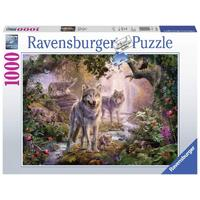 Ravensburger - 1000pc Summer Wolves Jigsaw Puzzle 15185-1