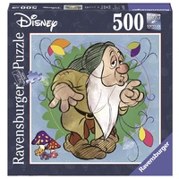 Ravensburger - 500pc Disney Sleepy Square Jigsaw Puzzle 15207-0