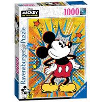 Ravensburger - 1000pc Disney Retro Mickey Jigsaw Puzzle 15391-6