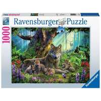 Ravensburger - 1000pc Wolves in the Forest Jigsaw Puzzle