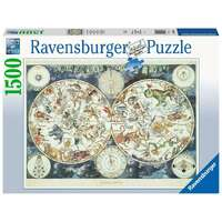 Ravensburger - 1500pc World Map of Fantastic Beasts Jigsaw Puzzle
