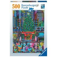 Ravensburger - 500pc Rockefeller Christmas Jigsaw Puzzle