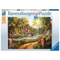 Ravensburger - 500pc Cottage by the River Jigsaw Puzzle