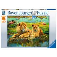 Ravensburger - 500pc Lions in the Savannah Jigsaw Puzzle