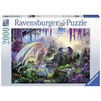 Ravensburger - 2000pc Dragon Valley Jigsaw Puzzle 16707-4