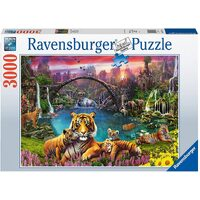 Ravensburger - 3000pc Tigers in Paradise Jigsaw Puzzle