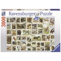 Ravensburger - 3000pc Animal Stamps Jigsaw Puzzle 17079-1