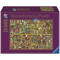Ravensburger - 18000pc Magical Bookcase Jigsaw Puzzle 17825-4