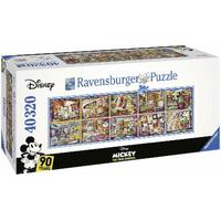 Ravensburger - 40320pc Disney Mickey Through the Years Jigsaw Puzzle 17828-5