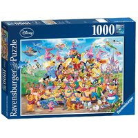 Ravensburger - 1000pc Disney Carnival Characters Jigsaw Puzzle 19383-7