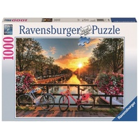 Ravensburger - 1000pc Bicycles in Amsterdam Jigsaw Puzzle 19606-7