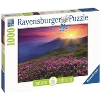 Ravensburger - 1000pc Early Morning Mountains Nature Jigsaw Puzzle 19608-1