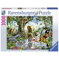Ravensburger - 1000pc Adventures in the Jungle Jigsaw Puzzle 19837-5