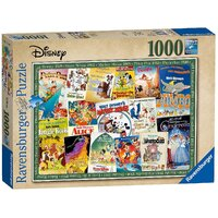 Ravensburger - 1000pc Disney Vintage Movie Posters Jigsaw Puzzle 19874-0