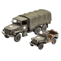 Revell 1/25 M34 Tactical & Off-Road Vehicle - 03260 Plastic Model Kit