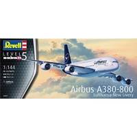Revell 1/144 Airbus A380-800 Lufthansa New Livery - 03872 Plastic Model Kit
